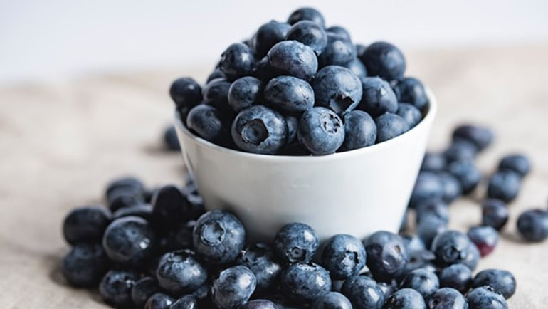 How do blueberries help weight loss