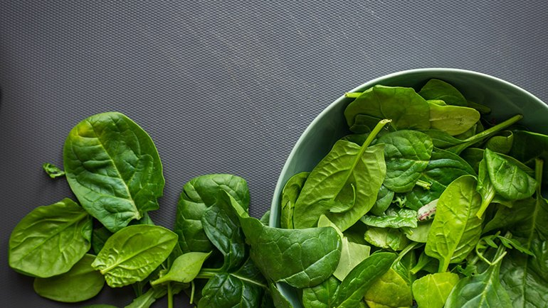 spinach help you lose weight