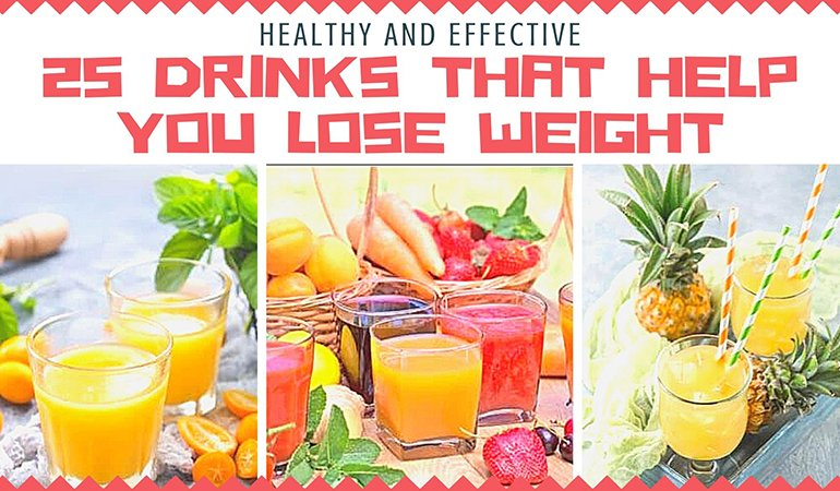 25 Drinks That Help You Lose Weight (Healthy and Effective)