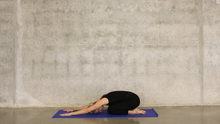 Yoga Asanas to Reduce Belly Fat - Child Pose