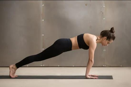 Yoga Asanas to Reduce Belly Fat - Plank Pose
